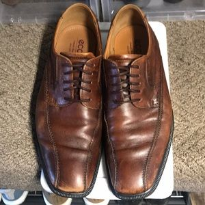 Ecco brown dress shoes